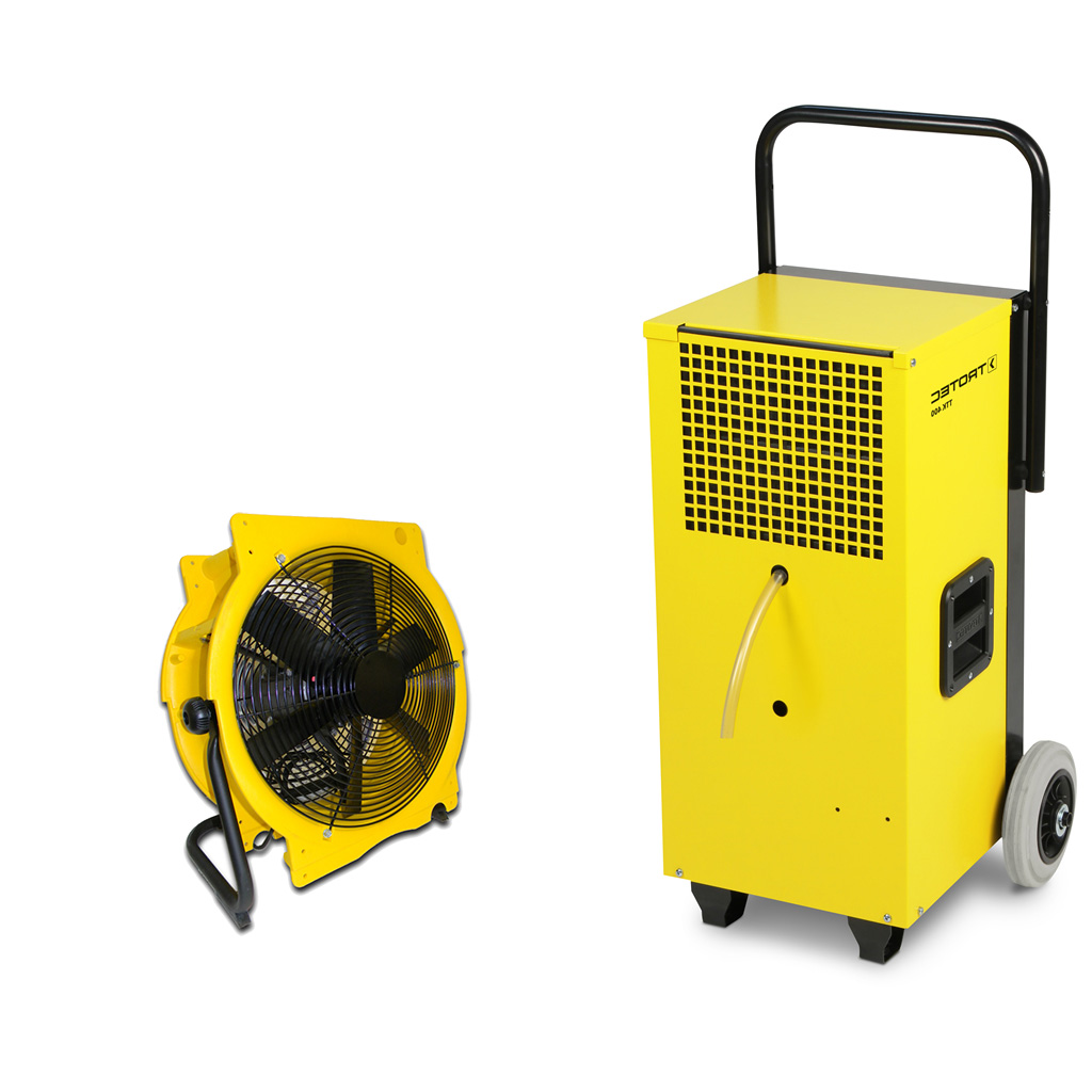 Bautrockner TTK 400 + Ventilator