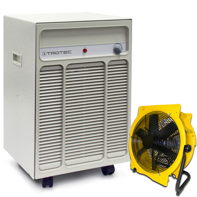 Bautrockner TTK 120 + Ventilator